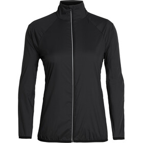 Icebreaker Rush Windbreaker Jacket Damen black